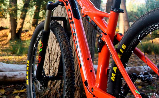 Nociones básicas sobre la geometría de una bicicleta: el ángulo del tubo del sillín
