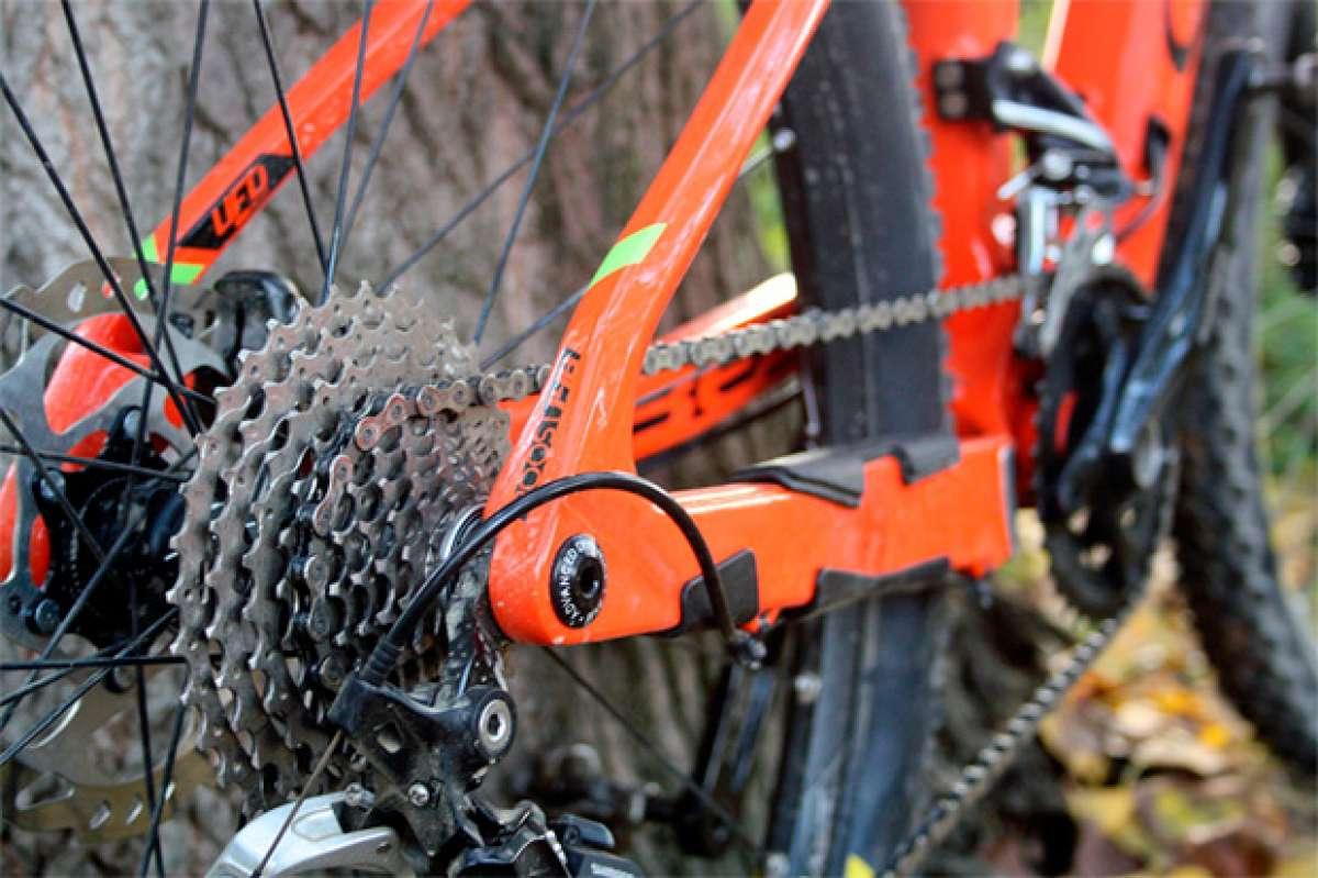 Nociones básicas sobre la geometría de una bicicleta: la longitud de las vainas