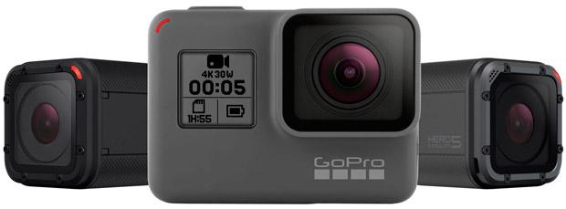 GoPro HERO5 Black y HERO5 Session, las mejores cámaras de acción del fabricante hasta la fecha
