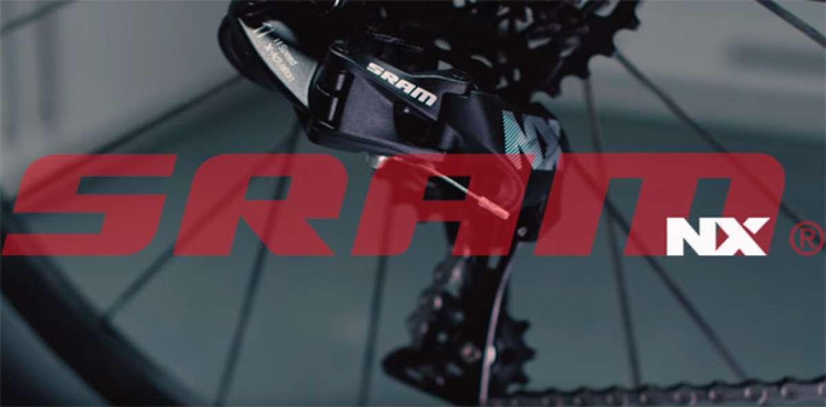 SRAM NX, un nuevo (y económico) grupo monoplato de 1x11 velocidades compatible con núcleo estándar