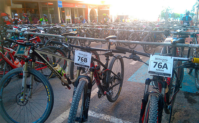 La foto del día en TodoMountainBike: 'Vuelta Ibiza MTB 2016'