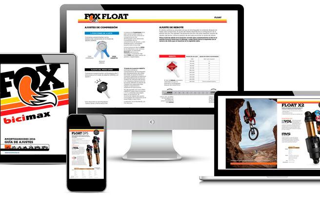 Guías de ajustes de horquillas y amortiguadores Fox 2016