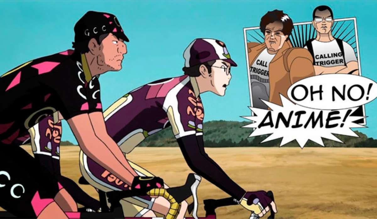 La historia del ciclismo en el cine 'anime' japonés