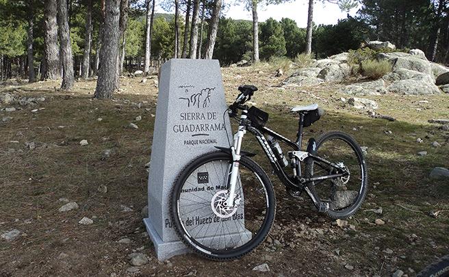 La foto del día en TodoMountainBike: 'A menos de 30 minutos de Madrid'