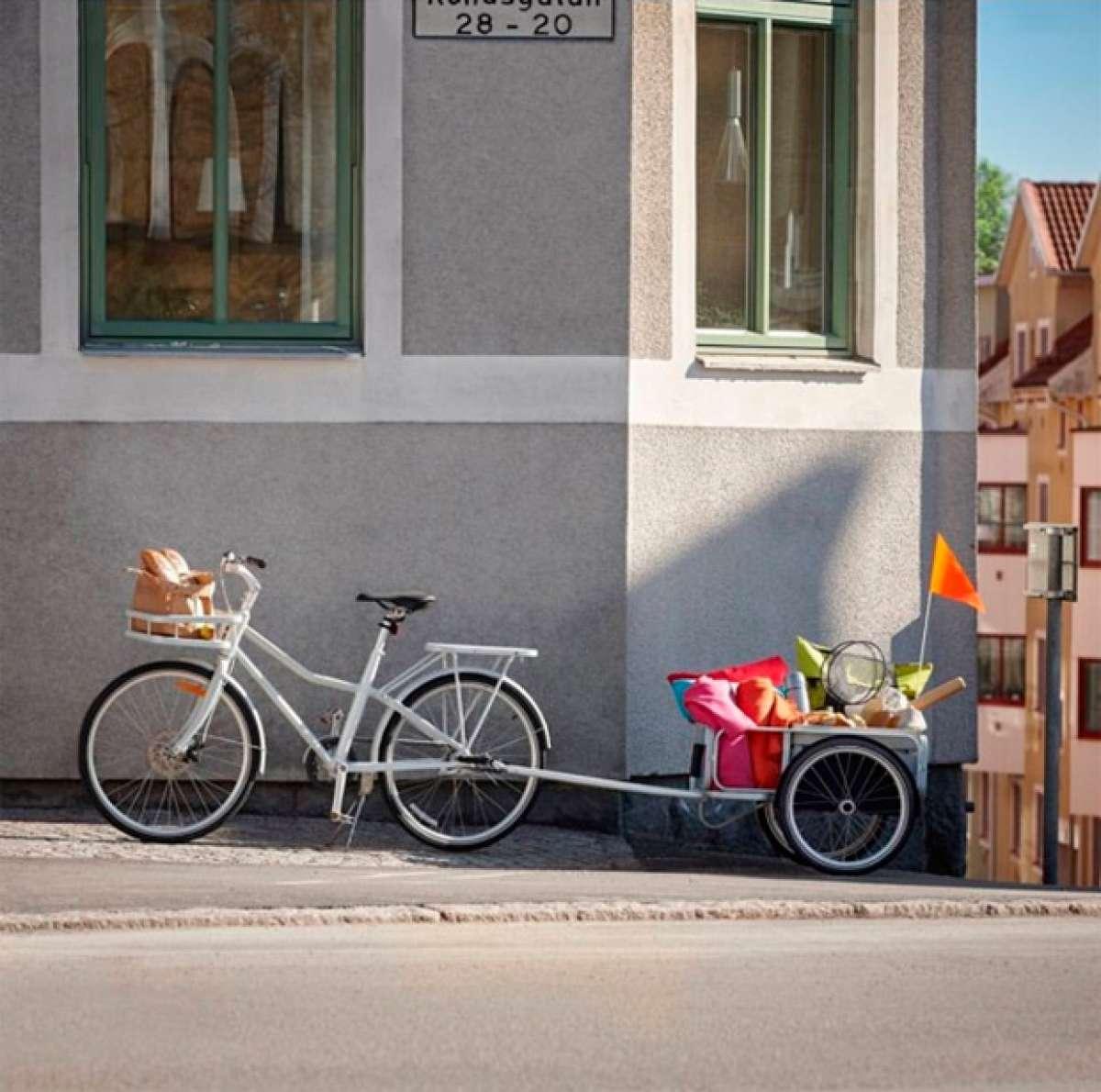 Ikea Sladda, la bicicleta del gigante sueco de los muebles y la decoración