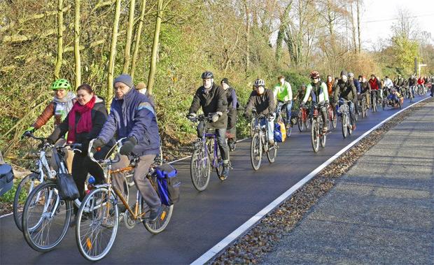 Para envidiar: Alemania inaugura el primer tramo de una ciclovía de 100 kilómetros