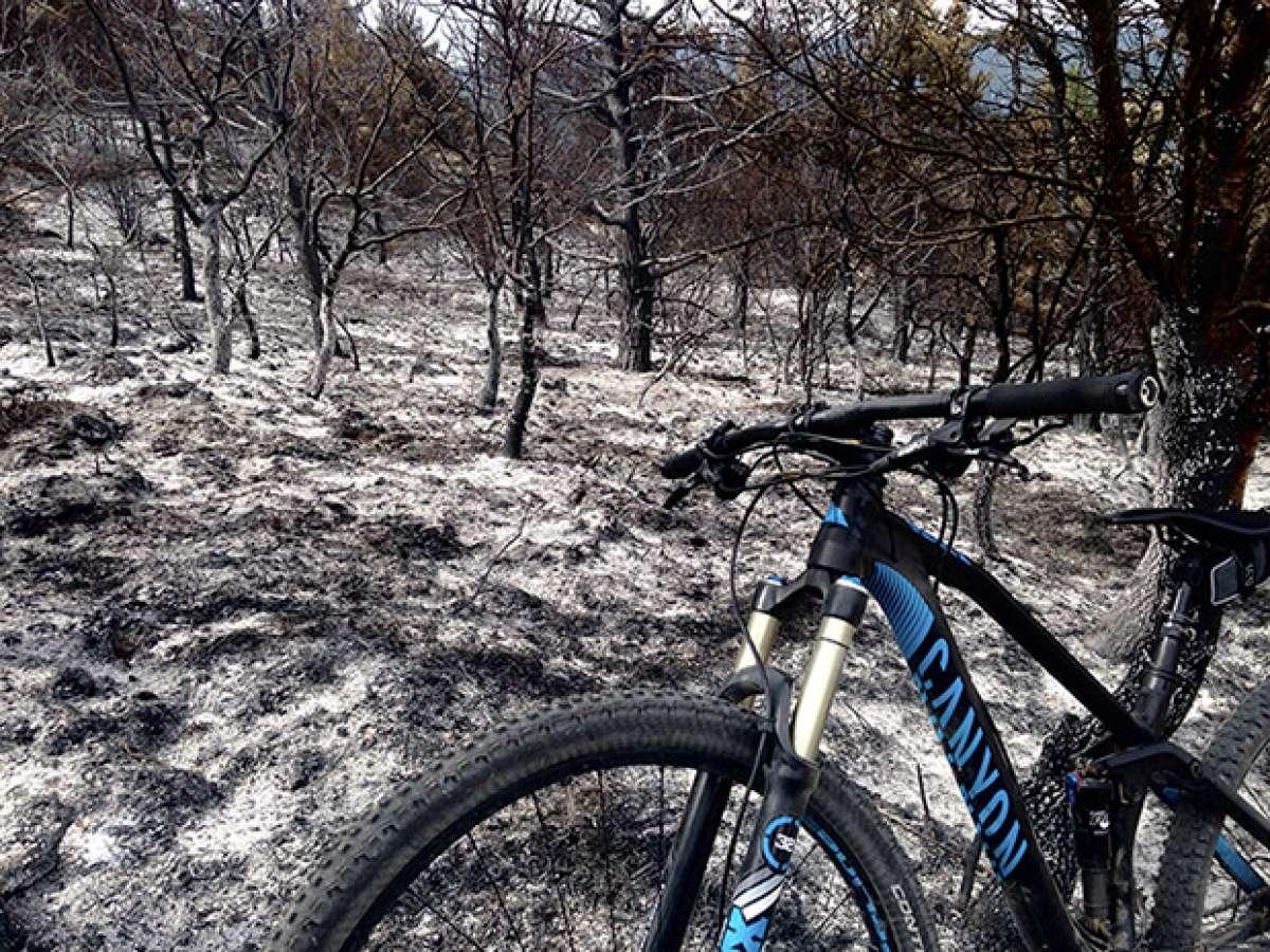 La foto del día en TodoMountainBike: 'Desolador paisaje'
