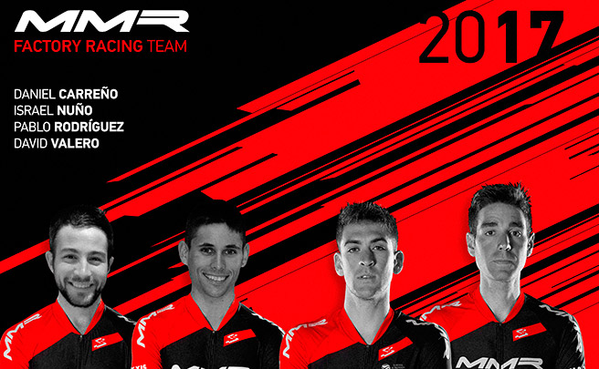 Presentados los integrantes del MMR Factory Racing Team 2017... sin Carlos Coloma