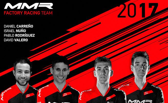 Presentados los integrantes del MMR Factory Racing Team 2017... sin Carlos Coloma