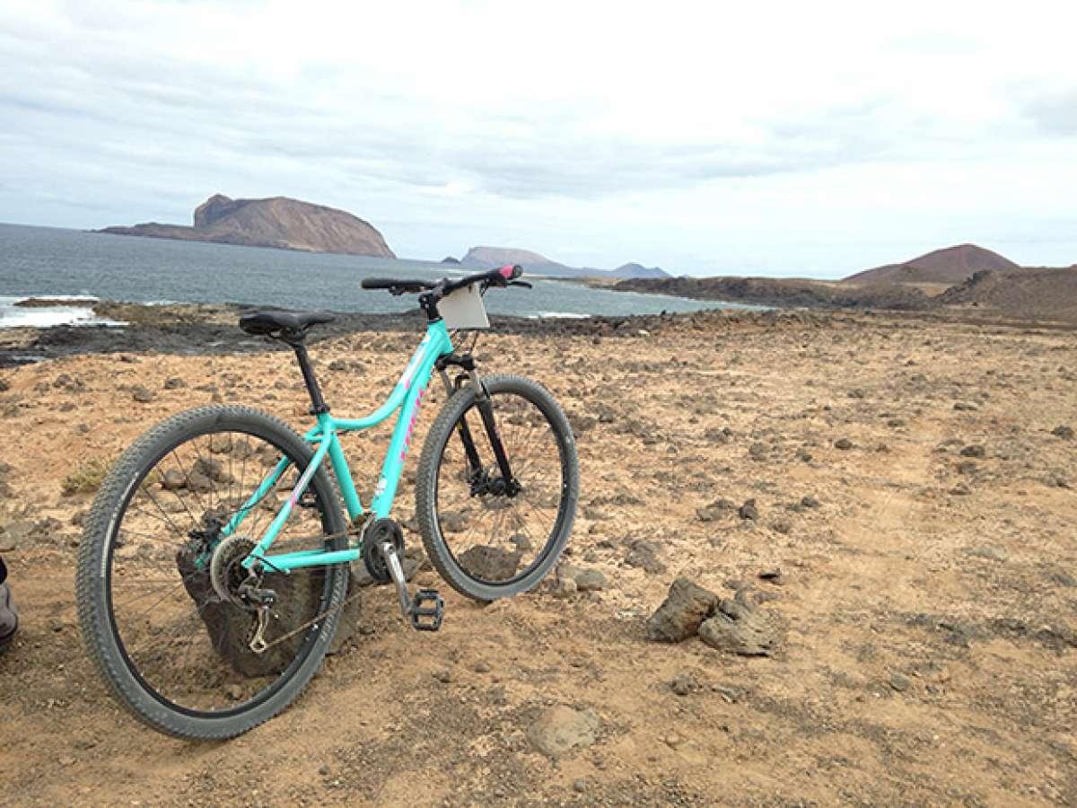 La foto del día en TodoMountainBike: 'Isla de La Graciosa'