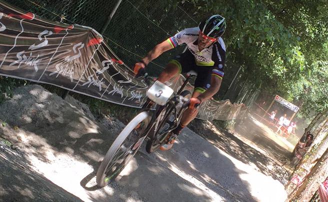 José Antonio Hermida, cuarto en el Campeonato de España XCO de Maceda: ''Era un resultado que entraba en las quinielas''