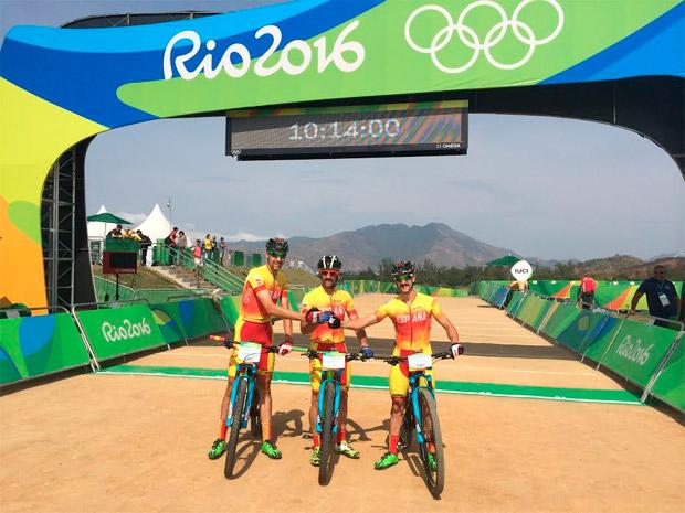 José Antonio Hermida, 15º en la prueba olímpica de XCO: ''El Mountain Bike nacional está a un gran nivel y debemos estar felices por ello''