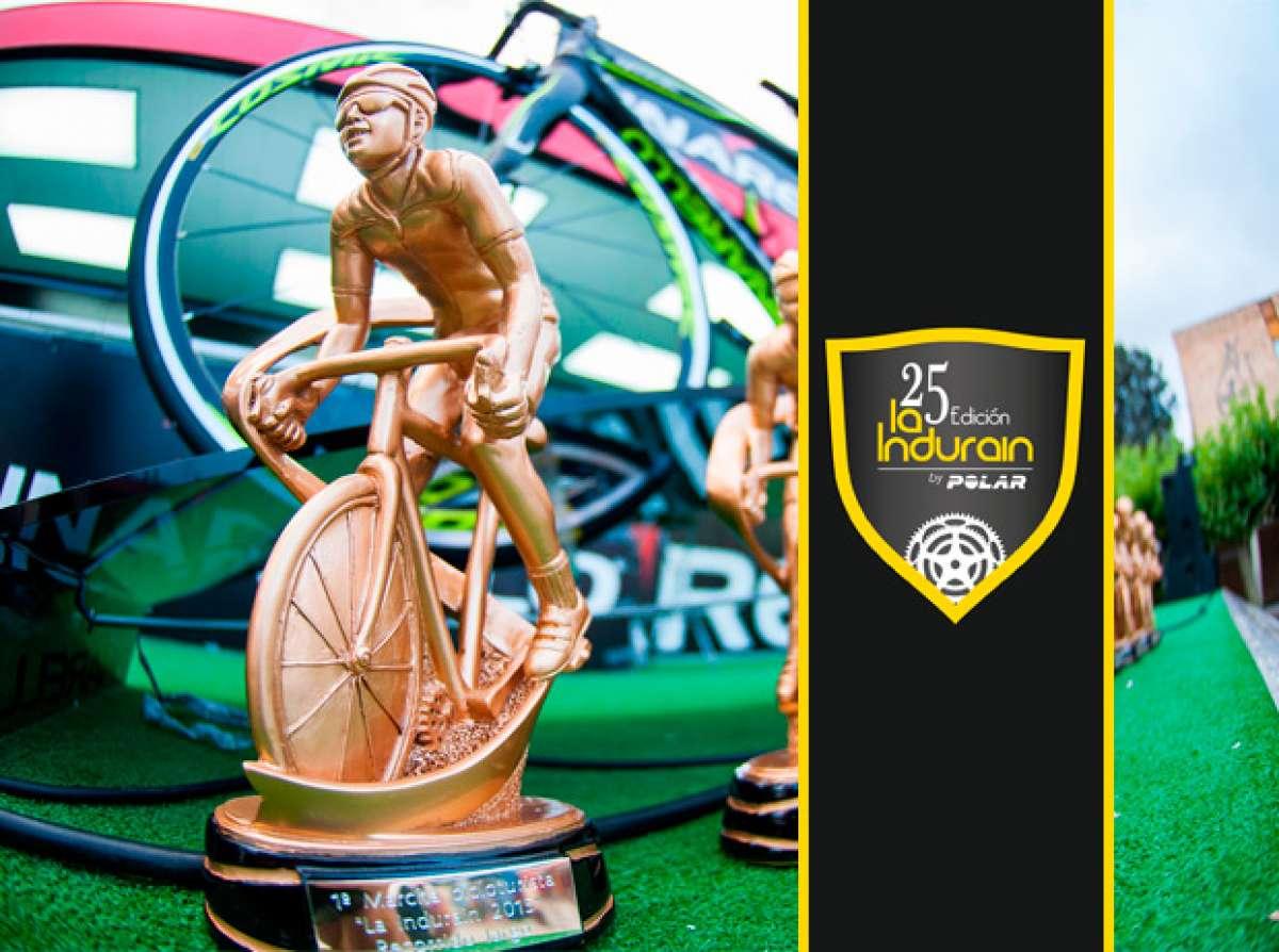 La marcha ciclista La Indurain, ahora patrocinada por Polar