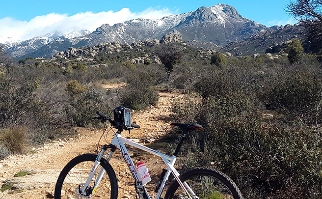 La foto del día en TodoMountainBike: 'La Maliciosa (Sierra de Guadarrama)'