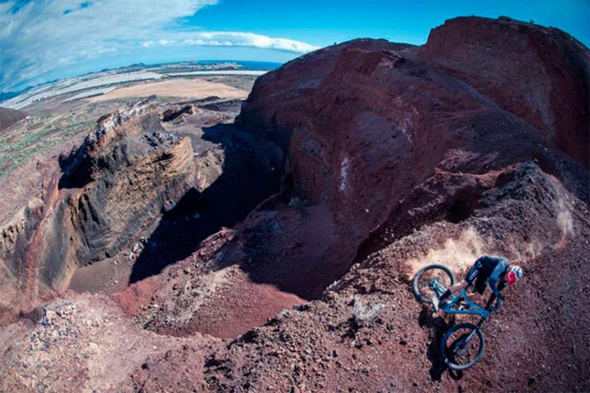 """""""La sombra del volcán"""", David Cachon rodando en la isla canaria de Tenerife"""