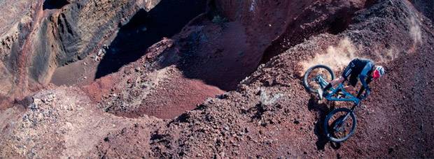 'La sombra del volcán', David Cachon rodando en la isla canaria de Tenerife