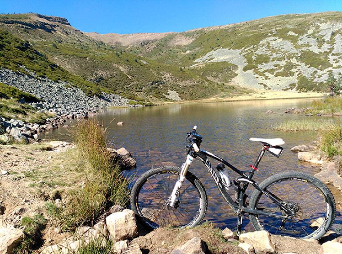 La foto del día en TodoMountainBike: 'Subida a la Laguna'