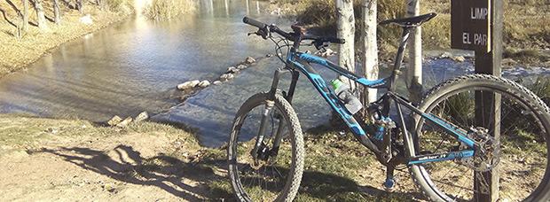 La foto del día en TodoMountainBike: 'Laguna del Rey'
