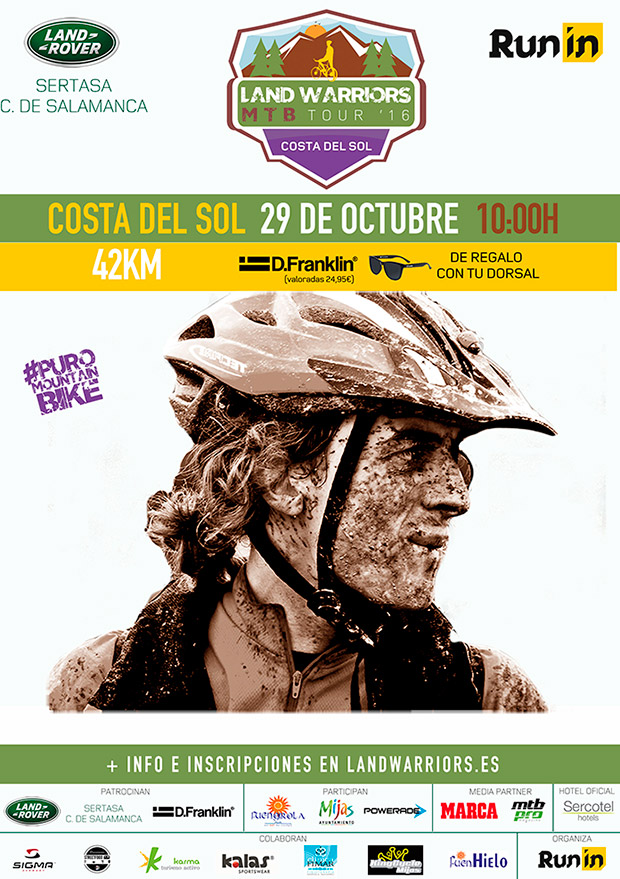 Todo a punto para la Land Warriors MTB Tour Costa del Sol 2016