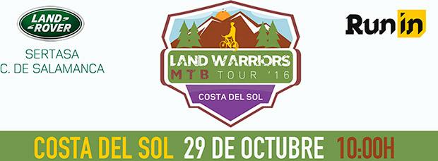 Todo a punto para la Land Warriors MTB Tour Costa del Sol 2016