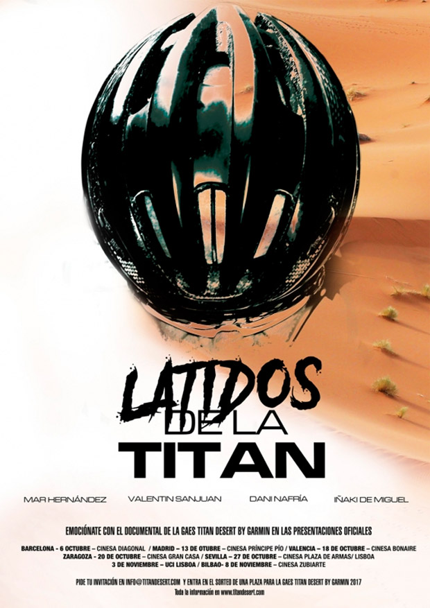 """""""Latidos de la Titán"""", un emotivo documental sobre las historias de superación vividas en la Gaes Titan Desert by Garmin 2016"""
