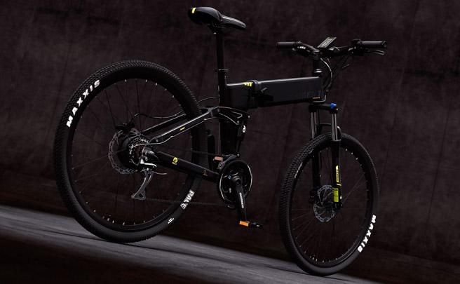 Legend Etna, una bicicleta de doble suspensión, plegable y eléctrica