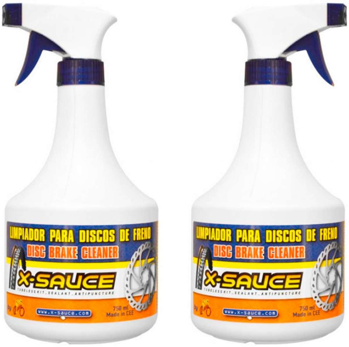 Nuevo limpiador de X-Sauce para pastillas y disco de freno