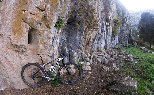 La foto del día en TodoMountainBike: 'Pared de roca'