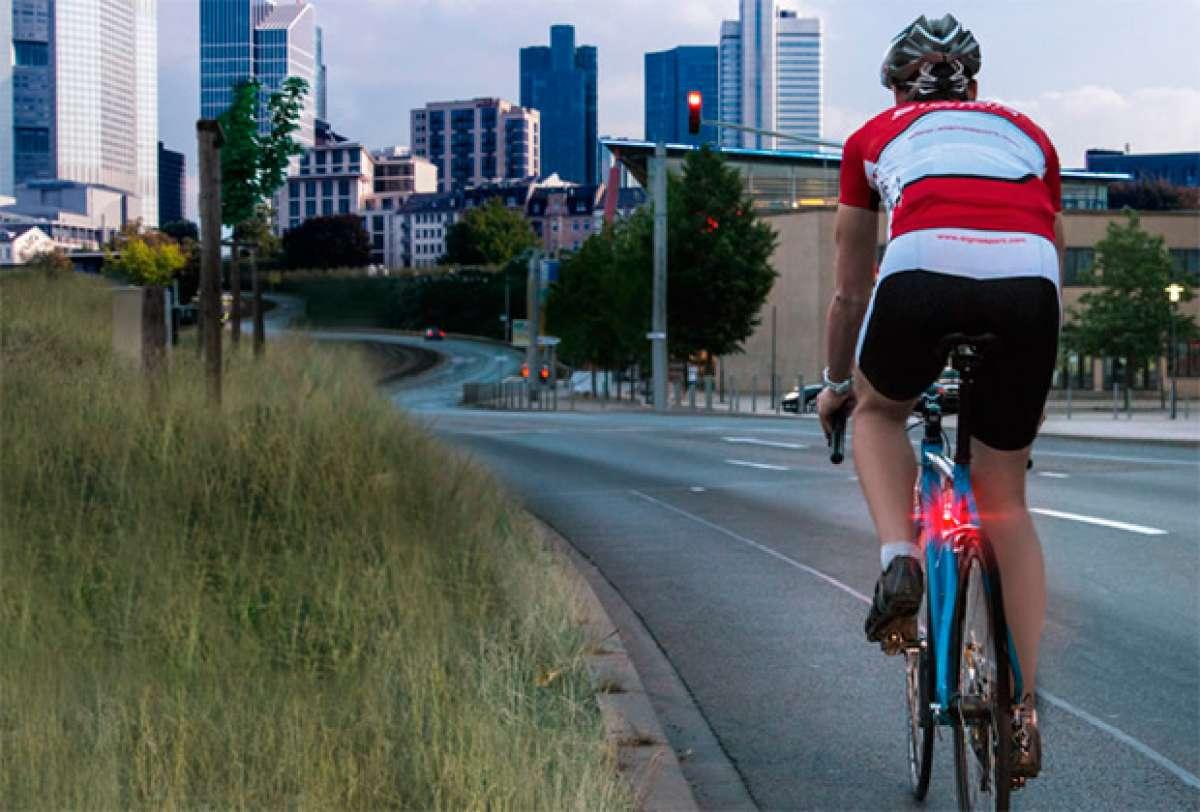 Sigma Brakelight, una luz de freno para mejorar la seguridad de los ciclistas