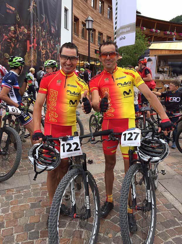Manuel 'Triki' Beltrán y José Luis Carrasco, convocados para el Campeonato del Mundo UCI de XC Maratón