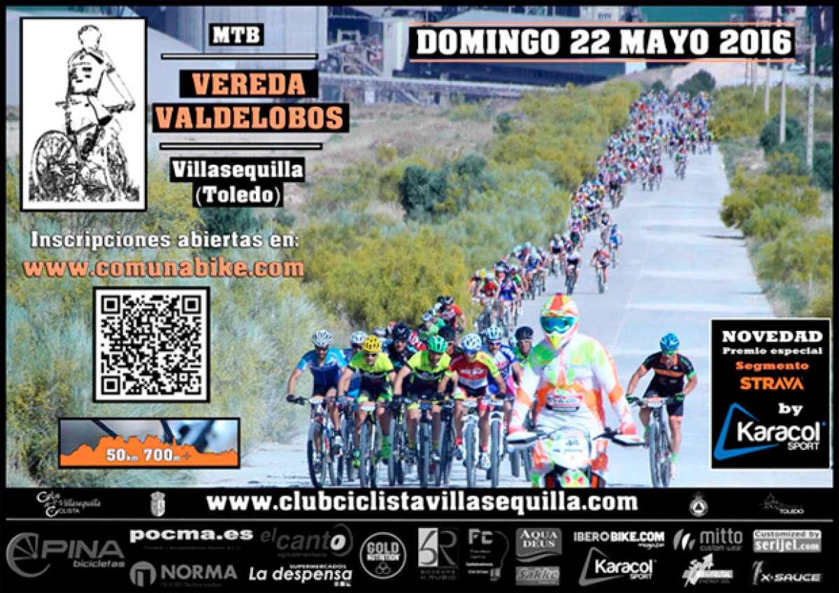 """22 de mayo de 2016: VIII Marcha MTB """"Vereda Valdelobos"""" 2016"""