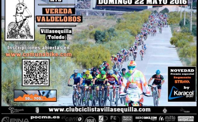 22 de mayo de 2016: VIII Marcha MTB 'Vereda Valdelobos' 2016