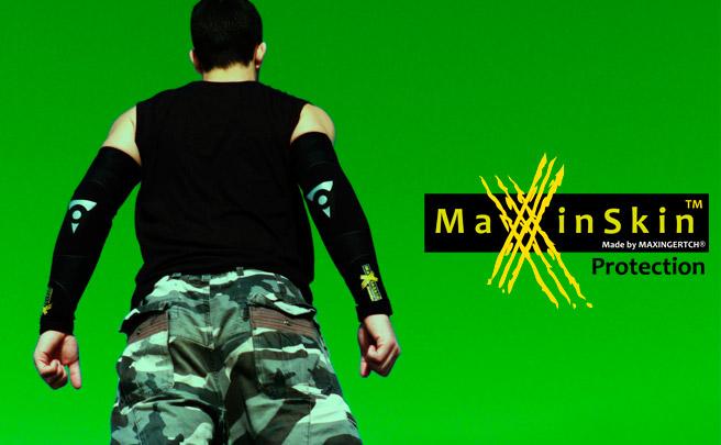 MaxinSkin Evolution, manguitos de cordura y kevlar para proteger nuestros brazos de forma contundente