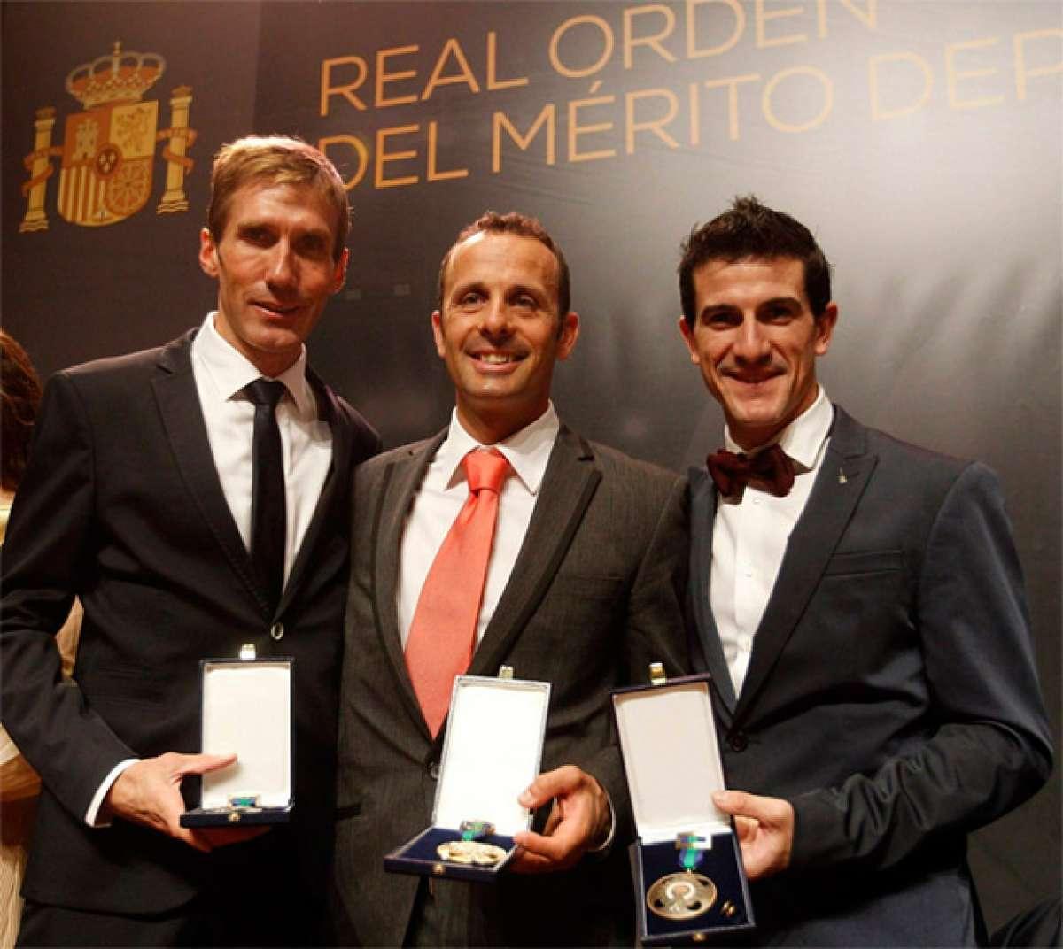 En TodoMountainBike: Medallas de la Real Orden del Mérito Deportivo para los ciclistas José Antonio Hermida, Carlos Coloma y Pablo Lastras