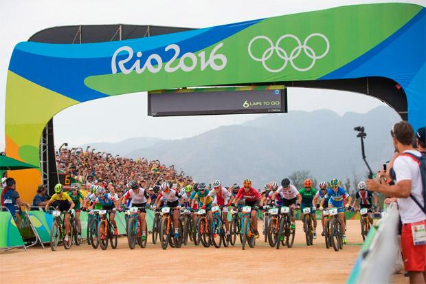 Las mejores imágenes de las pruebas XCO de los Juegos Olímpicos de Río 2016