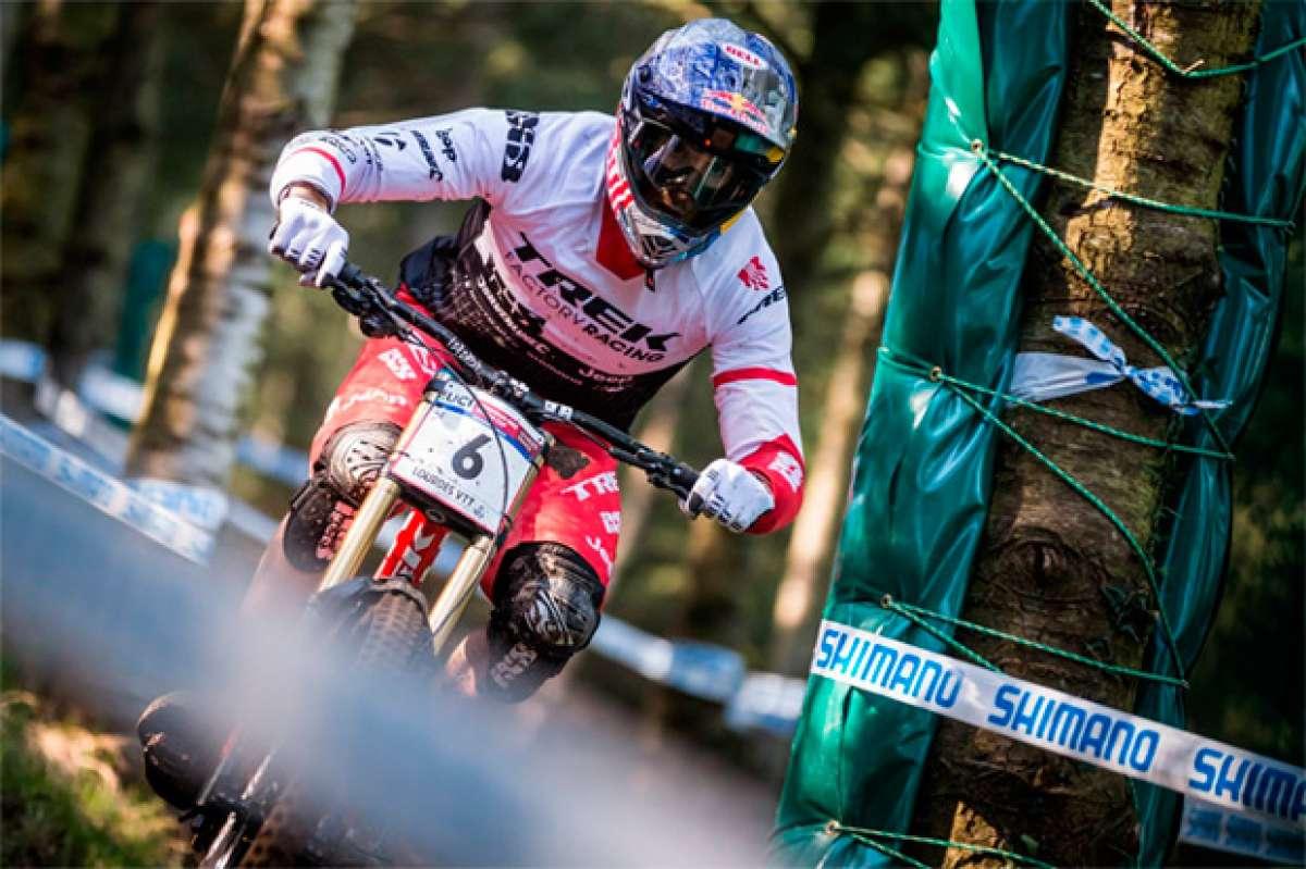 Los mejores momentos de la Copa del Mundo UCI DH 2016 en Lourdes (Francia)