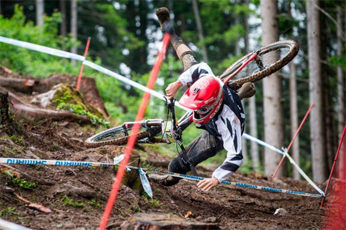 Los mejores momentos de la Copa del Mundo UCI DHI 2016 disputada en Leogang