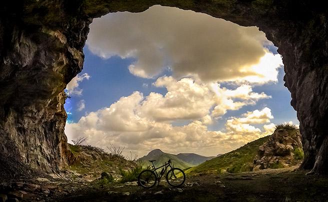 La foto del día en TodoMountainBike: 'La mina abandonada de Bustillos'