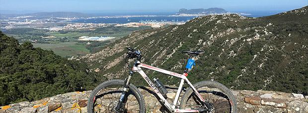 La foto del día en TodoMountainBike: 'La Bahía con el Peñón'