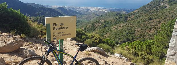 La foto del día en TodoMountainBike: 'Fin de sendero'