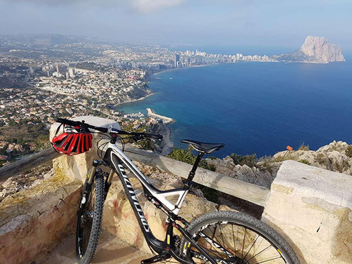 En TodoMountainBike: La foto del día en TodoMountainBike: 'Mirador del Morro de Toix'