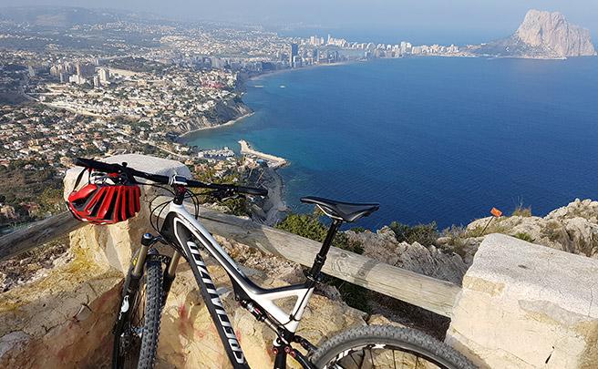 La foto del día en TodoMountainBike: 'Mirador del Morro de Toix'