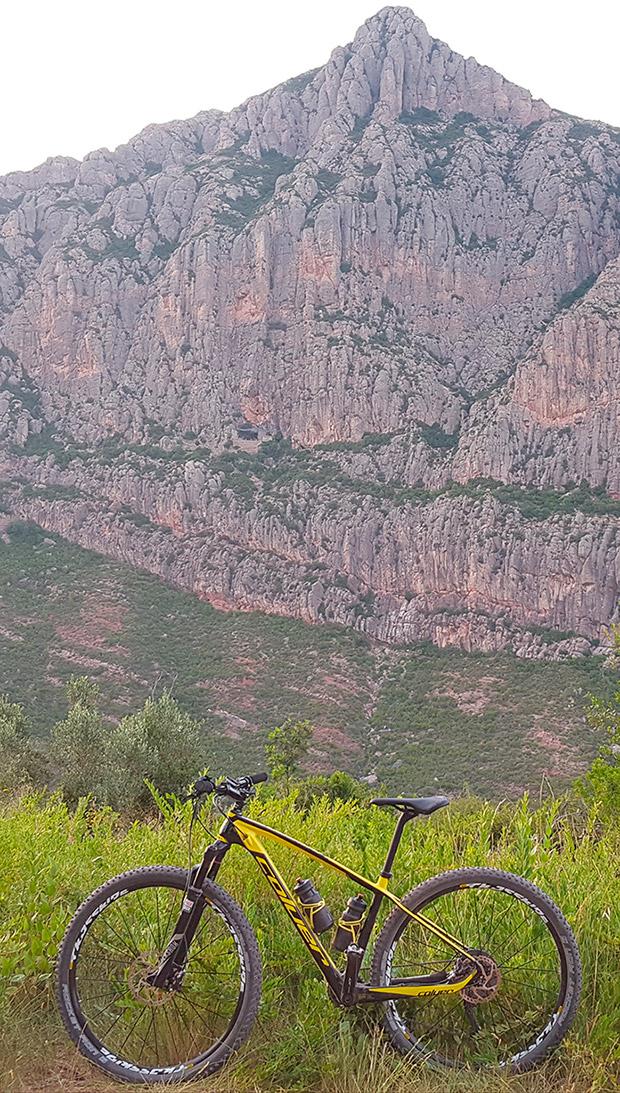 La foto del día en TodoMountainBike: 'Montaña de Montserrat'