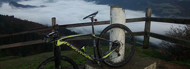 La foto del día en TodoMountainBike: 'Monte Ilso (Bizkaia)'