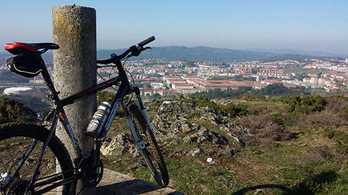 """La foto del día en TodoMountainBike: """"Santiago desde el Monte Viso"""""""