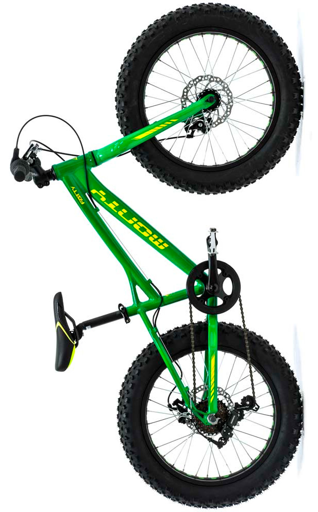 Monty Fatty, ruedas gordas para los más pequeños de casa