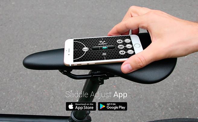 Morgaw Saddle Adjust, una aplicación móvil para ajustar la posición del sillín de forma perfecta
