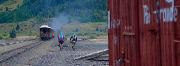 Mountain Bike en Colorado (EUA) con los pilotos de Diamondback