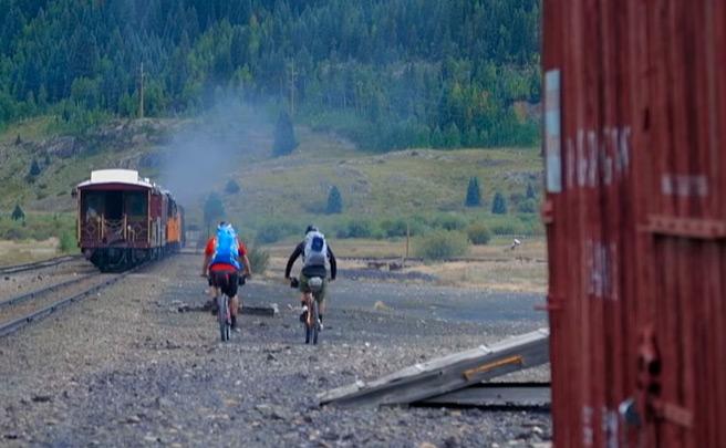 Mountain Bike en Colorado (EUA) con los pilotos de Diamondback