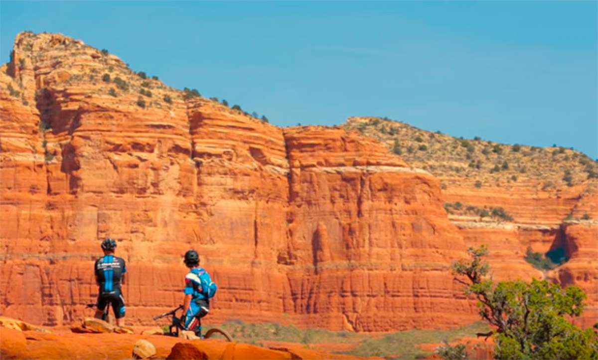 Mountain Bike en Sedona (Arizona) con el Giant Factory Off-Road Team